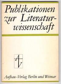 Publikationen zur Literaturwissenschaft