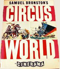 Original Program For The Film, Circus World, Cinerama.