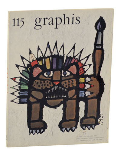 Zurich, Switzerland: Graphis Press, 1964. First edition. Softcover. Text in English, German and Fren...