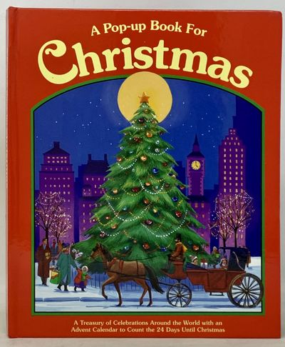 NY: Clarion, 1994. Glossy pictorial boards. Fine.. Illustrated. Small 4to. With a 24-day Advent cale...