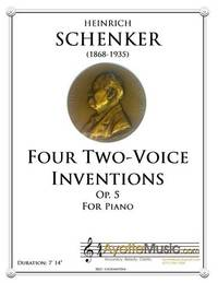 Four Two-Voice Inventions op. 5