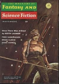 The Magazine of FANTASY AND SCIENCE FICTION (F&SF): November, Nov. 1968