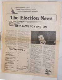 The Election News: Final edition, December, 1979: Gays move to Feinstein