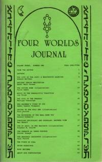 FOUR WORLDS JOURNAL: VOLUME THREE, NUMBER ONE, FALL 1985 by  Edward (ed.) Hoffman - 1985 - from By The Way Books and Biblio.com
