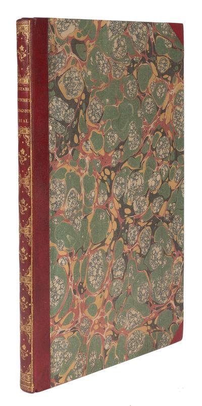 1776. in a superb Dusel binding. in a superb Dusel binding. A Colorful Duchess . Kingston, Elizabeth...