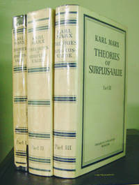 Theories of Surplus-Value (In Three Volumes)