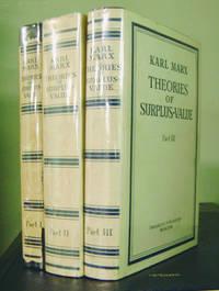 Theories of Surplus-Value (In Three Volumes)