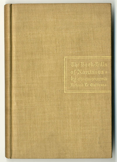 New York & London: Putnam / John Lane, 1895. Gilt tan cloth. Portrait by Robert Fowler. Contemporary...