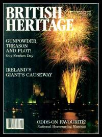 image of BRITISH HERITAGE - Volume 9, number 6 - October November 1988