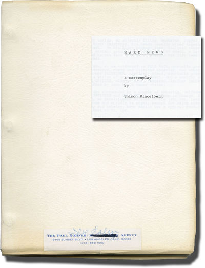 N.p.: N.p., 1980. Draft script for an unproduced film A drama written in the wake of the Vietnam War...