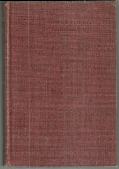 READINGS IN ENGLISH PROSE OF THE EIGHTEENTH CENTURY, Alden, Raymond editor