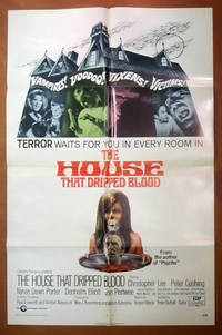 The House That Dripped Blood- Original One Sheet Folded Movie Poster (1971)
