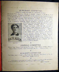 Souvenir Journal & Score Card Baseball Game in Honor Sam Hope Between Sayville Cardinals Independent Champions, Suffolk County and West Patchogue A.C. Suffolk County Champions 1934-1935 at West Patchogue Waverly Ave. Ball Grounds Sunday, October 10, 1937
