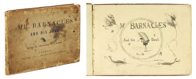 Oblong 8vo. London: Whittaker and Co., (1856). Oblong 8vo, original printed boards. Engraved title-p...