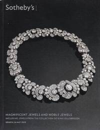 Magnificent jewels and noble jewels. Including jewels from the Collection of Gina Lollobrigida