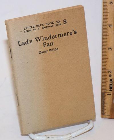 Girard, KS: Haldeman-Julius Company, n.d.. 88p., wraps slightly browned. Little Blue Book 8.