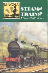 Steam Trains: A Book of 30 Postcards