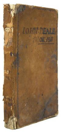 Manuscript account book of a Pennsylvania weaver