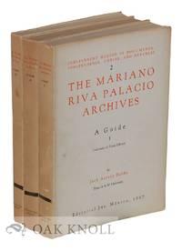 MARIANO RIVA PALACIO ARCHIVES: A GUIDE.|THE