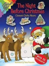 image of The Night Before Christmas: Coloring and Sticker Fun! (Dover Holiday Coloring Book)