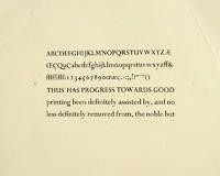 image of Early Perpetua specimen sheet