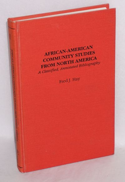 New York: Garland Publishing, 1991. xxiii, 234p., very good. Applied social sciences bibliographies ...