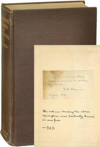 Joseph Ward of Dakota (First Edition, inscribed to Durand's wife)