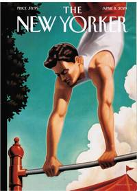 image of NEW YORKER: HEALTH ISSUE. COVER ACROBAT by KENTON NELSON