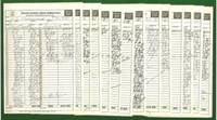 1981 United States Chess Championship and Zonal Qualifier (Score Sheets)
