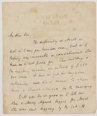 "Autograph Letter Signed to ""My dear Sir"", (Edward B., 1800-1882, Founder of the Oxford Movement)"