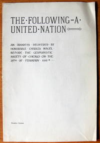 The Following-A United Nation