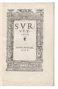 Surveyinge.  Anno Domini, 1567