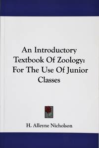 image of An Introductory Textbook of Zoology: for the Use of Junior Classes