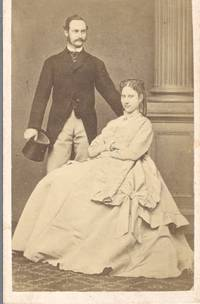 Fine unsigned carte de visite photo (1843-1912, King of Denmark) and his wife LOUISE (1851-1926, daughter of Carl XV of Sweden) by [FREDERIK VIII - from Sophie Dupre (SKU: 39341)