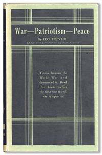 War -- Patriotism -- Peace