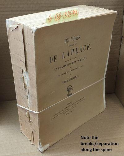 Paris: Gauthier-Villars et Fils, Imprimeurs-Libraires, 1886. Softcover. Large Thick Quarto; Fair/pap...