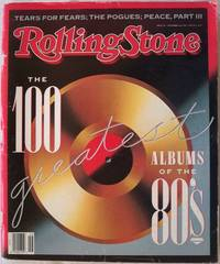 ROLLING STONE, NOVEMBER 16, 1989, ISSUE 565, THE 100 (ONE HUNDRED) GREATEST ALBUMS OF THE 80'S