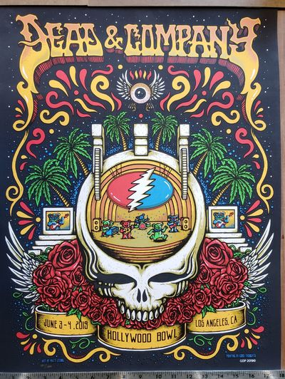 ABAA | Dead and Company - 2019 - Tour Poster - Hollywood