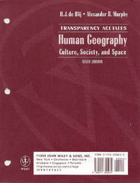 Human Geography: Culture, Society and Space-Transparency Acetates (Sixth Edition)