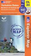 image of Yorkshire Dales - Northern & Central Areas (OS Explorer Map Active)