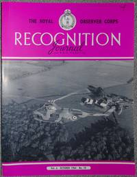 The Royal Observer Corps Recognition Journal October 1964 Vol 6 No 10