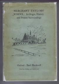 image of Merchant Taylors' School: Its Origin, History and Present Surroundings