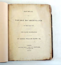 Journal of a Voyage to Greenland in the Year 1821
