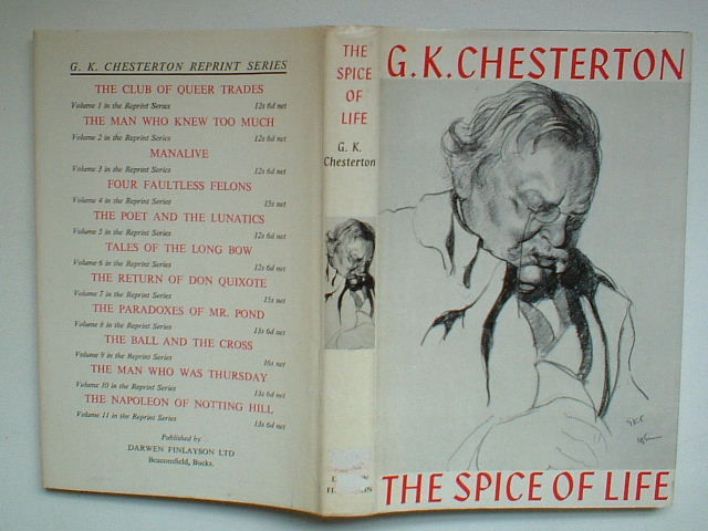 bed by chesterton essay g.k in lying other
