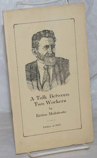 image of A talk between two workers. Foreword by Aurora Alleva