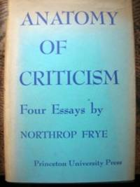 image of Anatomy of Criticism: Four Essays.