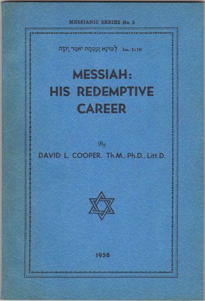 Los Angeles: Biblical Research Society, 1958. Second edition. Paper wrappers. A very good+ copy, sun...