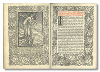 A NOTE BY WILLIAM MORRIS ON HIS AIMS IN FOUNDING THE KELMSCOTT PRESS TOGETHER WITH A SHORT DESCRIPTION OF THE PRESS ... & AN ANNOTATED LIST OF THE BOOKS PRINTED THEREAT