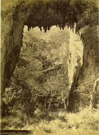 Carlotta Arch, Jenolan.  Albumen print