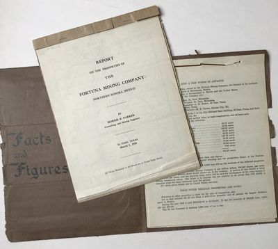 El Paso, 1910. About very good.. leaves, plus five folding maps; leaves, plus one folding map. Origi...